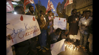 Pakistan steps up security after IS kills 9 in church attack