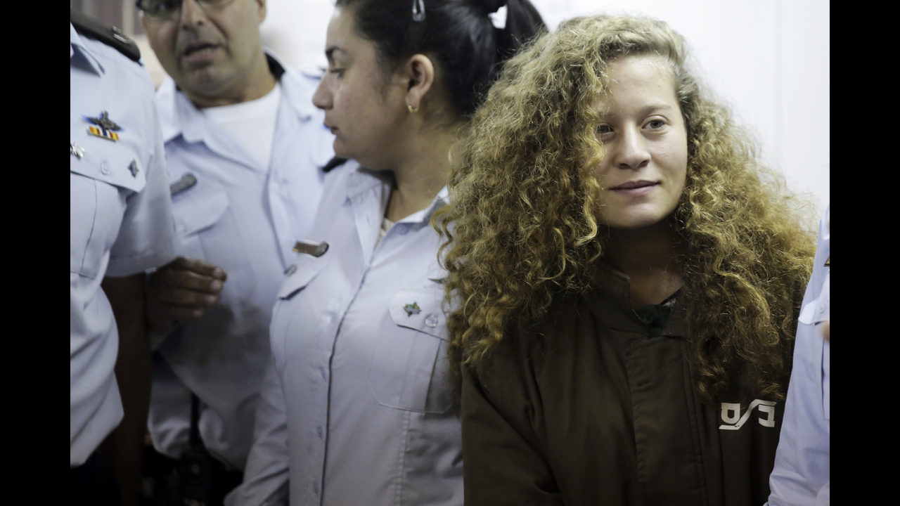 Israel indicts teenage Palestinian girl who slapped soldiers