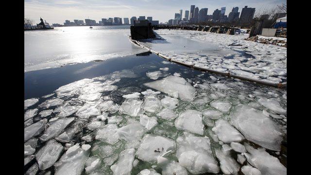 Aptopix Deep Freeze Massachusetts Latest Maryland Governor Declares State Emergency