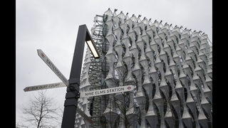 New US Embassy denigrated by Trump set to open in London