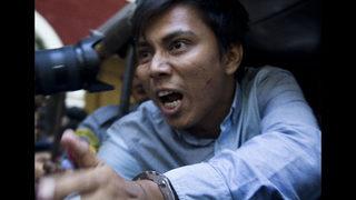 Richardson seeks to resolve Myanmar crisis, free journalists