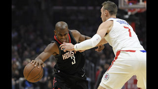 Clippers beat Paul, Rockets 113-102 for 5th win in a row