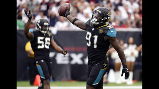 The Jaguars PILE ON to the Patriots, AFC Championship game