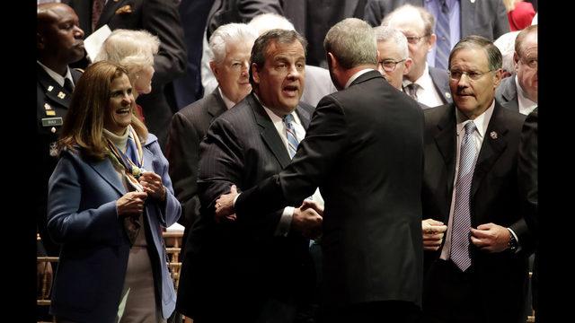 Christie ends term unpopular, but with legs left unbroken