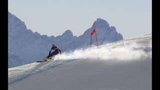 Vonn dominates Cortina downhill training again