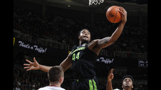 No. 9 Michigan State bounces back and routs Indiana 85-57