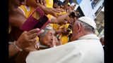 Droves fill pope