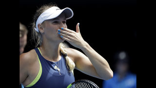 Wozniacki into Aussie Open quarterfinals vs Suarez Navarro