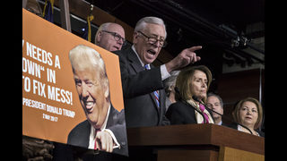 Democrats, GOP exchange charges of blame for shutdown
