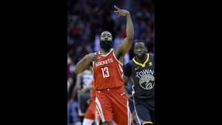 Paul has 33, Rockets end Warriors