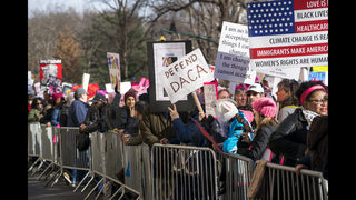 US marches for women