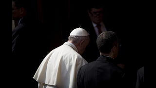 The Latest: Police: 1.2M turn out for Pope