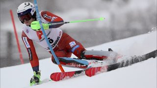 Kristoffersen wins slalom, ends Hirscher
