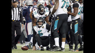 Jaguars collapse seals Patriots