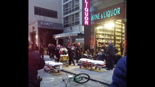 3 men shot in midtown Manhattan near Macy