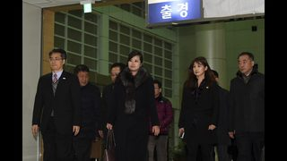 S. Korean advance team goes to North for pre-Olympic events