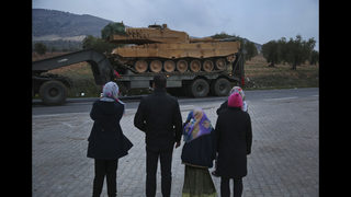 Turkish troops face fierce battles in Syrian Kurdish enclave