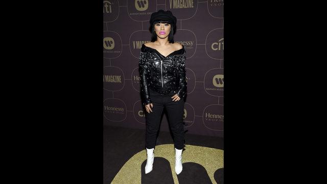 Cardi B celebrates Grammy nods, hit songs at label party | WFTV