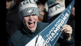 The Latest: Fans keep it mostly peaceful at Eagles parade