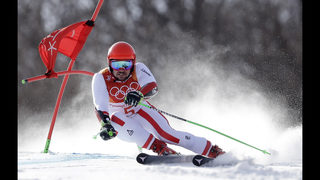 Hirscher: 2nd gold by largest Olympic GS margin in 50 years