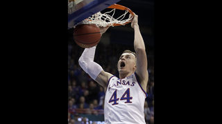 Graham leads No. 8 Kansas to 104-74 rout of Oklahoma