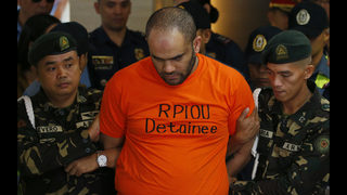 Philippine forces arrest alleged ex-Islamic State commander