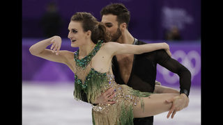 French ice dancer doesn