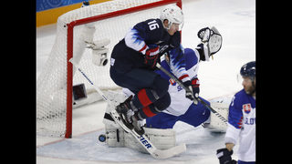 US beats Slovakia 5-1, will play Czechs in Olympic quarters