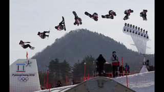 Sick tricks! Big Air bounds into Olympics on a high note