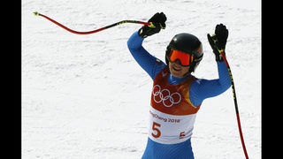 Sofia Goggia takes downhill gold; Lindsey Vonn earns bronze