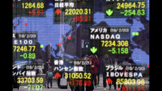 World shares mixed after Wall Street sell-off, focus on Fed