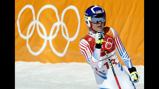 Gisin holds off Shiffrin to win Olympic Alpine combined