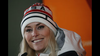 A big night for NBC, led by Lindsey Vonn, women