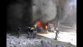 Hospitals overwhelmed by bombing blitz of Damascus suburbs