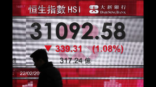 World stocks lower after Fed report renews bond yield fears