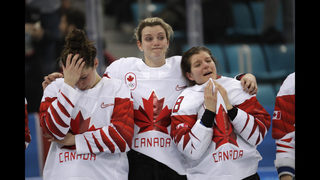 Shootout loss sends Canada to silver medal in women