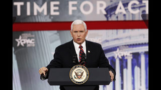 Pence urges conservatives to