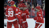 Red Wings beat Canes 3-1; Zetterberg scores to tie Lindsay