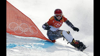 Ledecka gets second Olympic gold, this time in snowboarding
