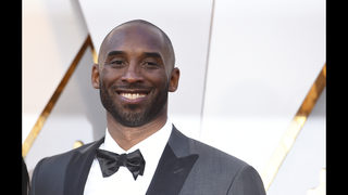 Former Lakers star Kobe Bryant wins Oscar for animated short