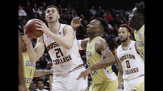 Bowman leads BC past Ga Tech 87-77 in ACC tourney opener