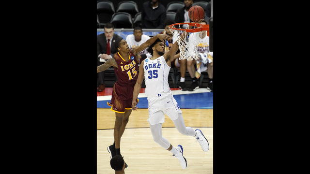Bagley Duke Rout Iona 89 67 Breeze Into Second Round Wjax Tv