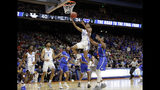 Kentucky guard Shai Gilgeous-Alexander (22) shoots against Buffalo during the first half of a second-round game in the NCAA men's college basketball tournament Saturday, March 17, 2018, in Boise, Idaho. (AP Photo/Otto Kitsinger)