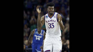 Kansas holds off Seton Hall 83-79 to reach Sweet 16