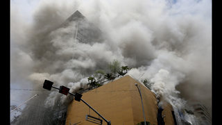 Fire at Philippine hotel-casino out, death toll raised to 5