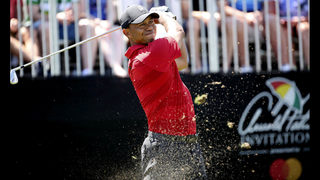 Woods makes a brief run at Bay Hill until a big miss