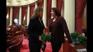 California to get first female and first LGBT Senate leader