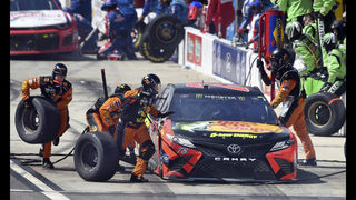 Martin Truex Jr. grabs 1st win of NASCAR season at Fontana
