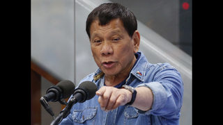 Philippine leader urges nations to exit international court