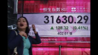 Global stocks decline after Wall Street gains
